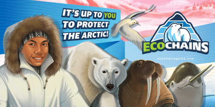 EcoChains Arctic Life: A Food Web Game About Climate Change