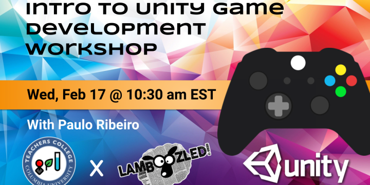 Introduction to Unity game engine workshop